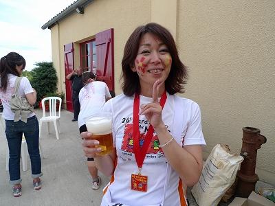 メドックマラソンツアーDay3 打ち上げパーティ@シャトー・ド・ロウガ_d0113725_1515216.jpg