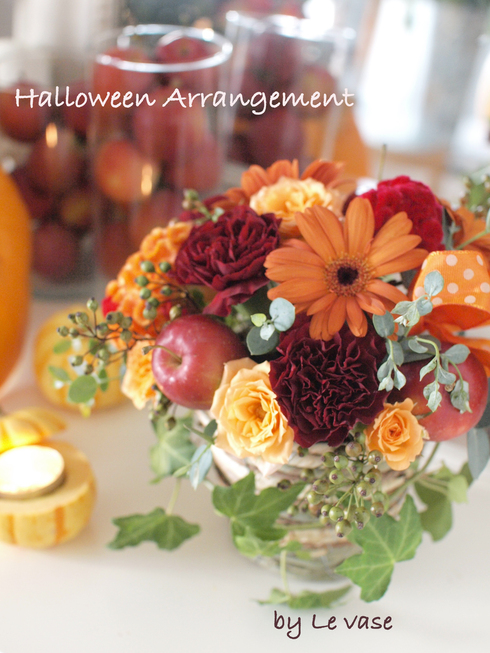 Halloween arrangement_e0158653_23323436.jpg
