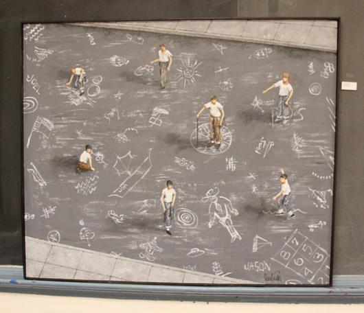 廃校になった小学校を使ったNYの大アート・イベント RE:FORM SCHOOL_b0007805_1102449.jpg