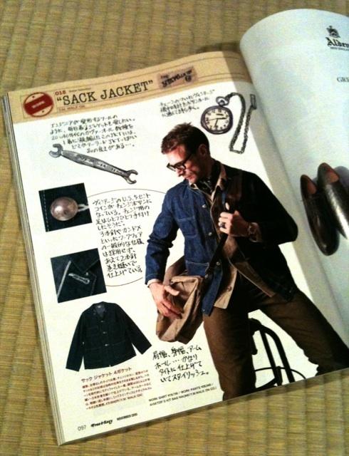 WALK ON The Sack Jacket Of 4Pocket!!!_c0144020_12563917.jpg