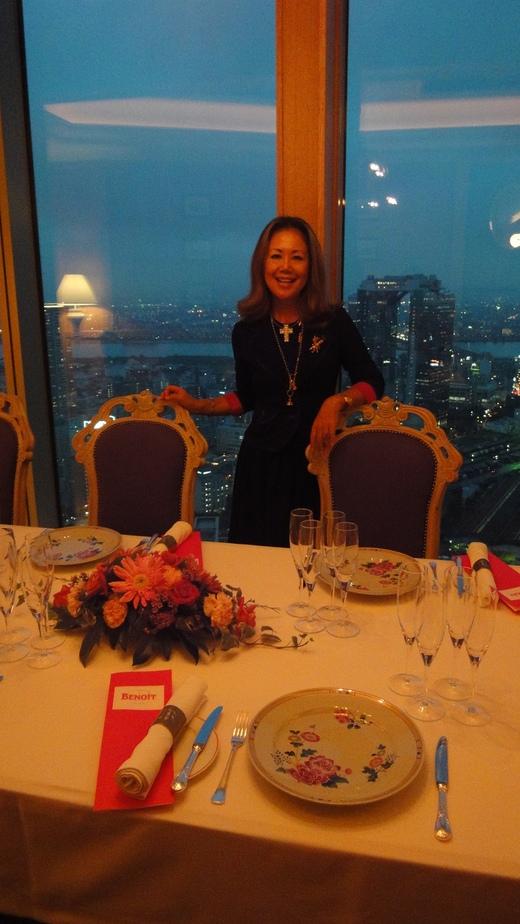 めくるめくシャンパーニュ晩餐会@ル・コントワール・ド・ブノワPart 1_f0215324_23383389.jpg