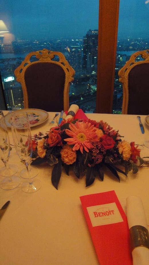 めくるめくシャンパーニュ晩餐会@ル・コントワール・ド・ブノワPart 1_f0215324_23482697.jpg