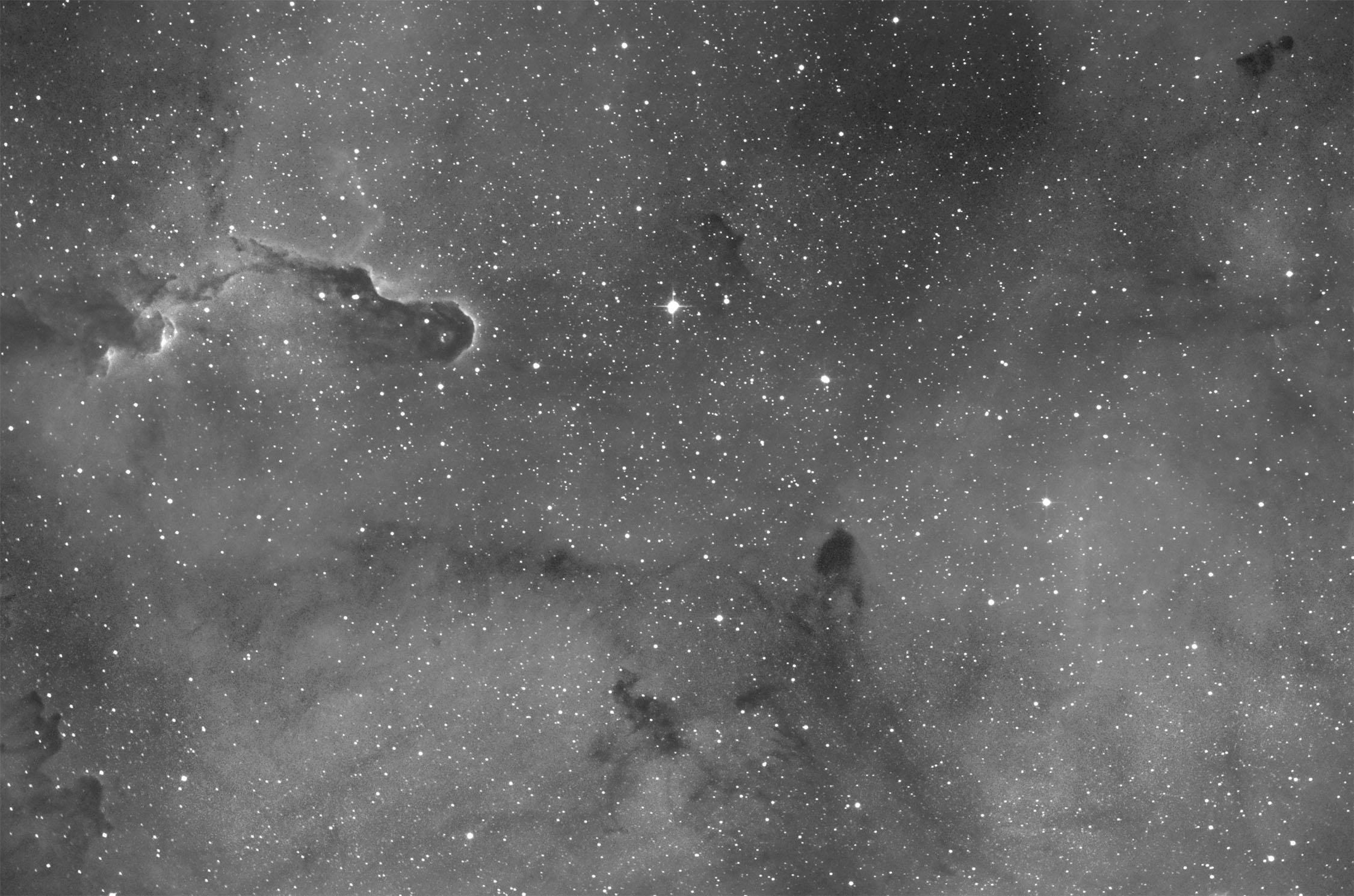 ケフェウス座散光星雲IC1396 Ha_c0061727_164418.jpg