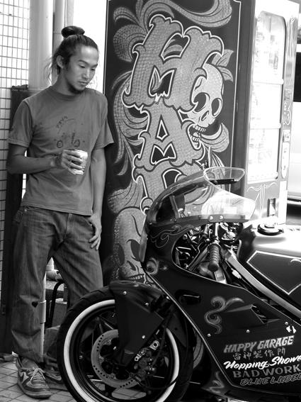 宮本 将義 & HONDA NS250R(2010 0918)_f0203027_8523656.jpg