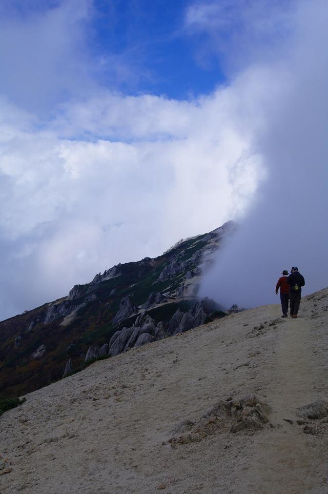 燕岳登山 その4 燕山荘から燕岳へ_a0060230_23291919.jpg