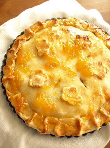 紅芋&アップルパイをおみやげに・・。_d0128268_20531421.jpg