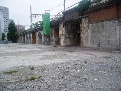 さよなら交通博物館(10) 万世橋駅等の遺構と再開発工事_f0030574_2347169.jpg