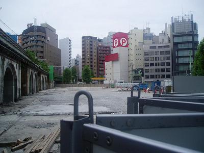 さよなら交通博物館(10) 万世橋駅等の遺構と再開発工事_f0030574_23492730.jpg