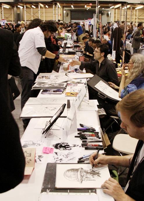 NY Comic Con参加漫画家さんの作風から感じるアメリカの多様性_b0007805_6134389.jpg