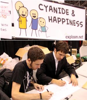 NY Comic Con参加漫画家さんの作風から感じるアメリカの多様性_b0007805_6173679.jpg
