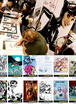 NY Comic Con参加漫画家さんの作風から感じるアメリカの多様性_b0007805_646812.jpg