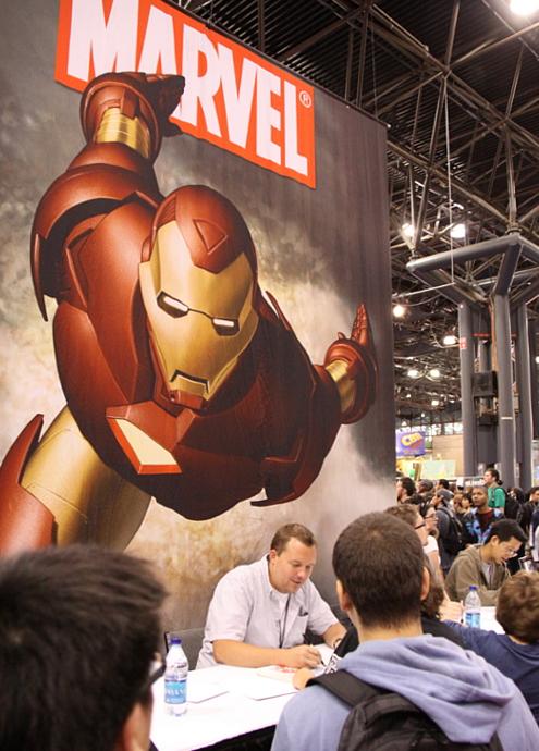 NY Comic Con参加漫画家さんの作風から感じるアメリカの多様性_b0007805_6501831.jpg