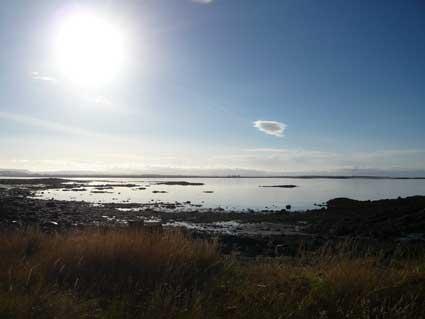 ジョン・レノンのピースタワーを楽しむ異常気象のアイスランド_c0003620_6154624.jpg