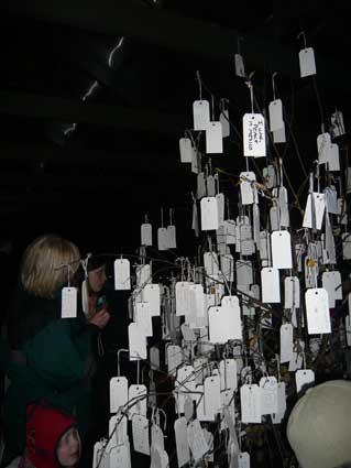 ジョン・レノンのピースタワーを楽しむ異常気象のアイスランド_c0003620_6254652.jpg