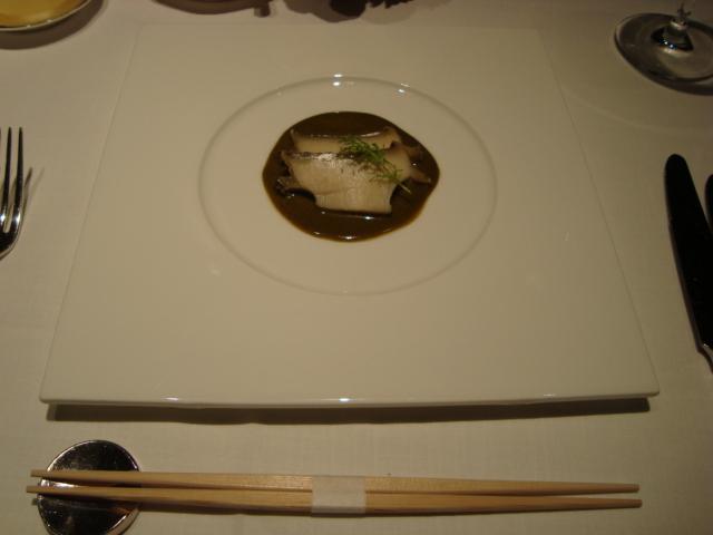 銀座「仏蘭西料理 みつ和」へ行く。_f0232060_0193321.jpg