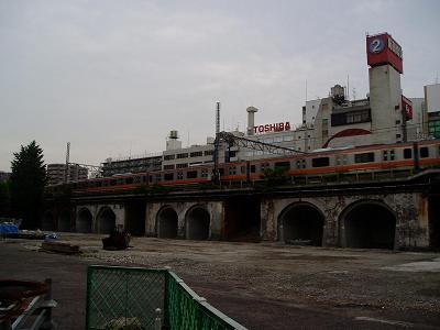 さよなら交通博物館(10) 万世橋駅等の遺構と再開発工事_f0030574_0341612.jpg