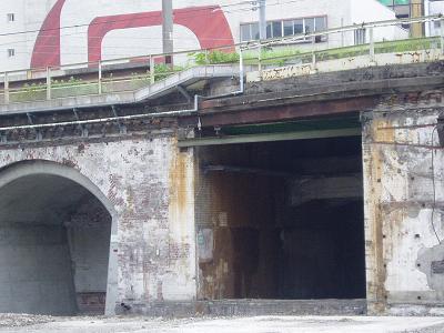 さよなら交通博物館(10) 万世橋駅等の遺構と再開発工事_f0030574_047874.jpg