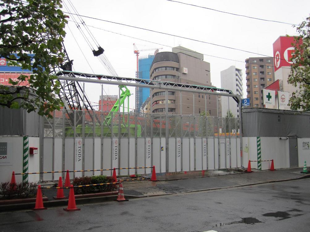 さよなら交通博物館(10) 万世橋駅等の遺構と再開発工事_f0030574_345496.jpg