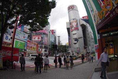 10月12日(火)今日の渋谷109前交差点_b0056983_11513657.jpg