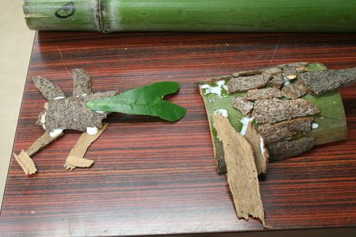 自然のものでオブジェ 京都府立植物園_c0100195_221251.jpg