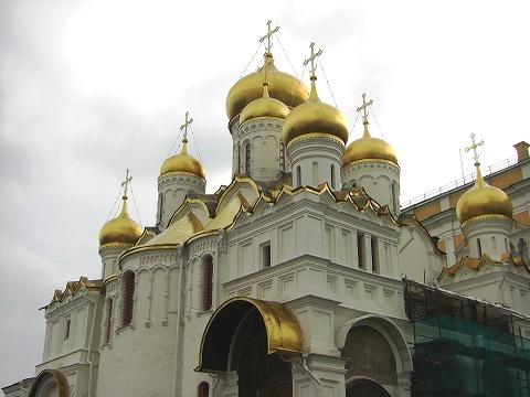 ロシア旅行記:2日目(8/28) モスクワ(4) クレムリン 2_a0039199_21253360.jpg
