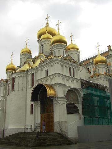 ロシア旅行記:2日目(8/28) モスクワ(4) クレムリン 2_a0039199_21261327.jpg