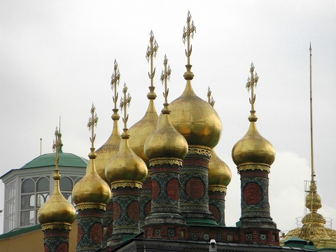 ロシア旅行記:2日目(8/28) モスクワ(4) クレムリン 2_a0039199_21283373.jpg