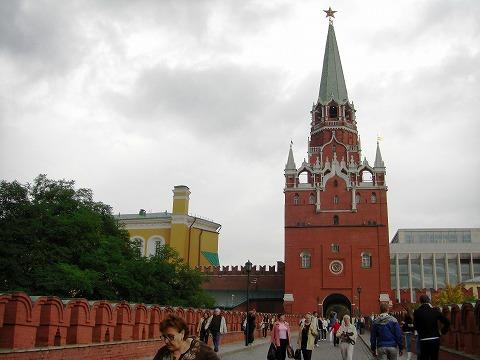 ロシア旅行記:2日目(8/28) モスクワ(4) クレムリン 2_a0039199_212929100.jpg