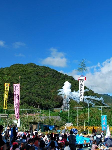 祈りよ届け、農民ロケット「龍勢祭」_c0177814_16432399.jpg