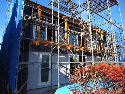 袴塚の家 キャットウオーク造作 2010/10/13_a0039934_1816269.jpg