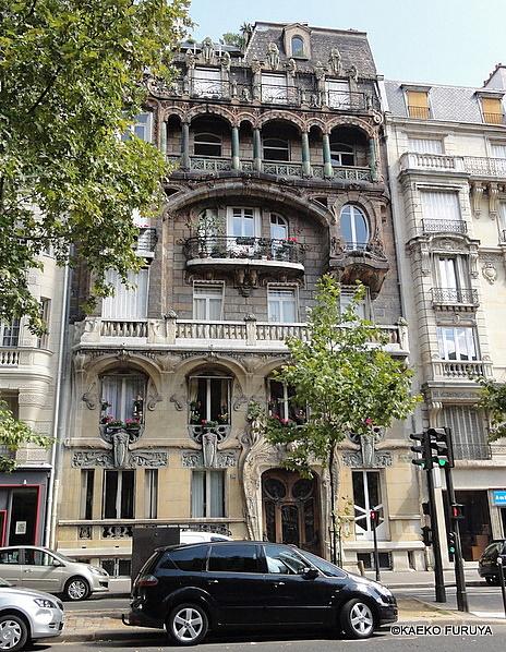 パリのアール・ヌーボー建築_a0092659_23144550.jpg