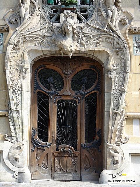 パリのアール・ヌーボー建築_a0092659_23224973.jpg
