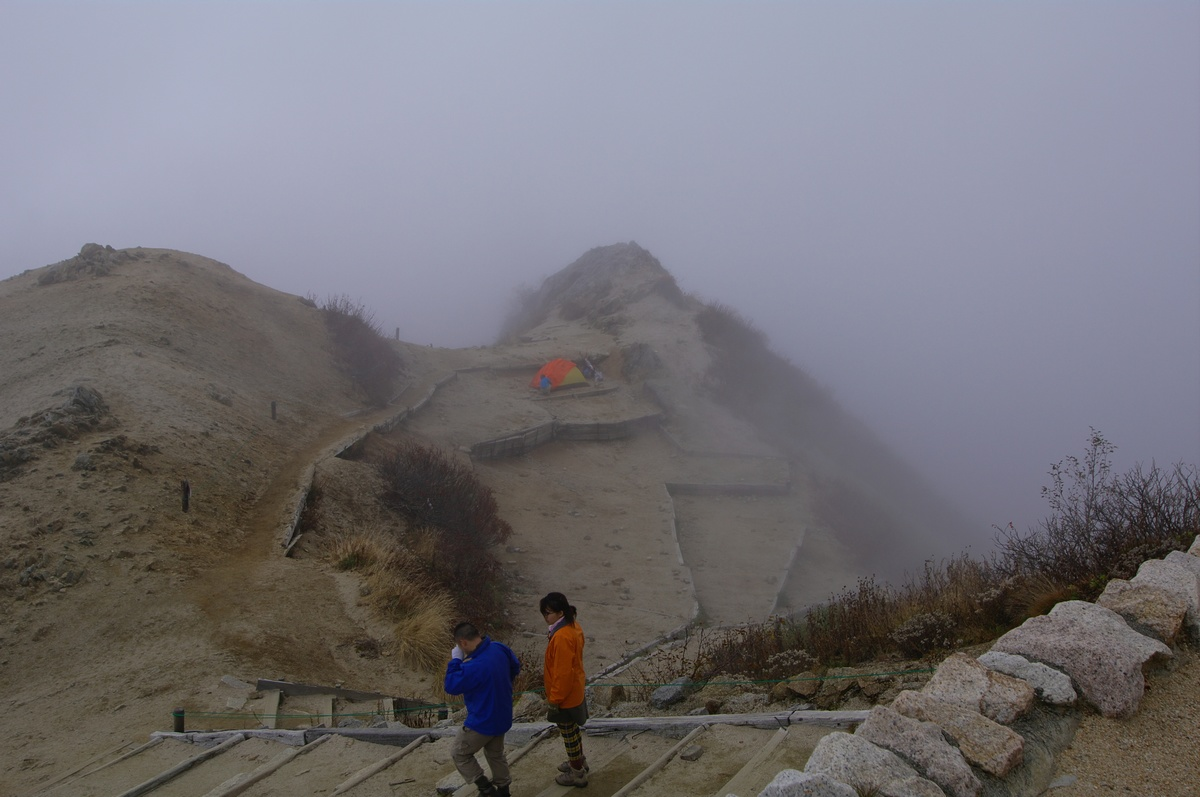 燕岳登山 その7(最終回) 燕山荘に戻る+α_a0060230_22212318.jpg