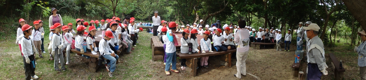 「西鳥取小学校1・2年生」遠足サポート_c0108460_20143049.jpg