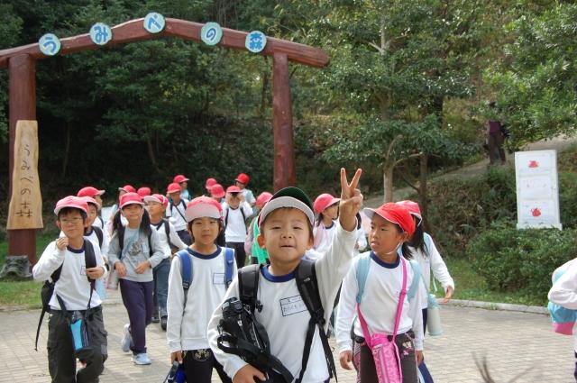 「西鳥取小学校1・2年生」遠足サポート_c0108460_20183983.jpg