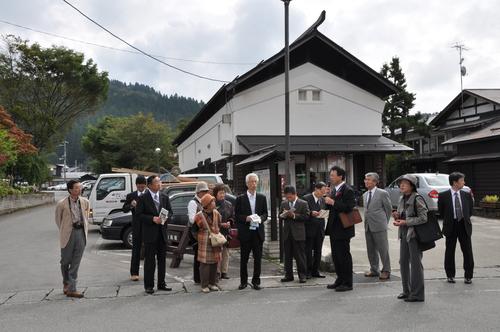 山形県内のまちづくりや商店街活動を視察しました_f0226571_1643496.jpg
