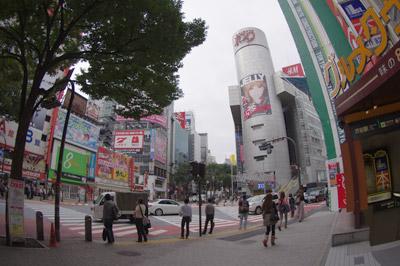 10月14日(木)今日の渋谷109前交差点_b0056983_13102053.jpg
