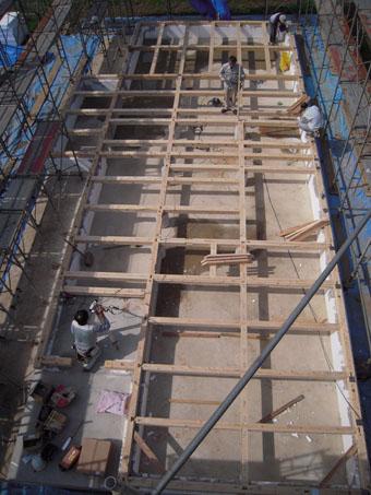 Q1住宅P上越の家:建て方_e0054299_7115279.jpg