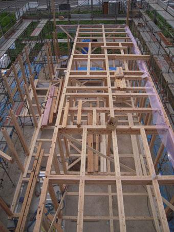 Q1住宅P上越の家:建て方_e0054299_712552.jpg