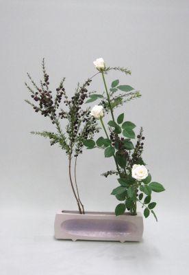 花もの2種でいける_c0165824_1625244.jpg