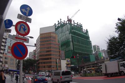 10月15日(金)今日の渋谷109前交差点_b0056983_1849308.jpg