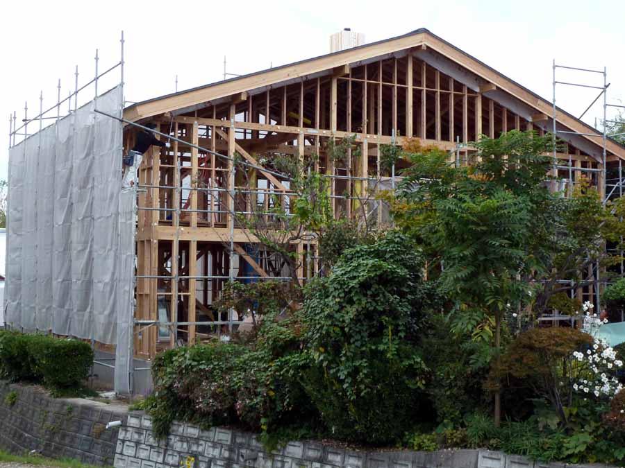 「外岡羽立の家」 工事中です。_f0150893_12152037.jpg