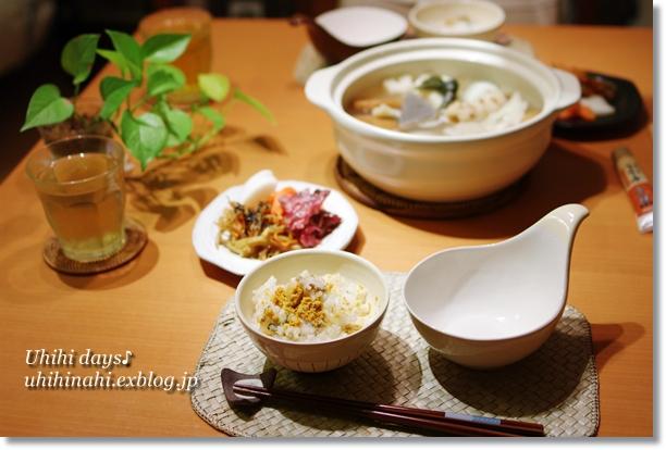 いちご煮ご飯 _f0179404_21514678.jpg