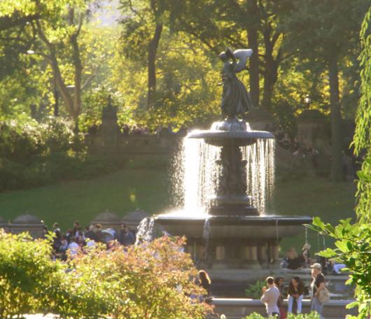 初秋のセントラルパークへお散歩に_b0007805_21522210.jpg