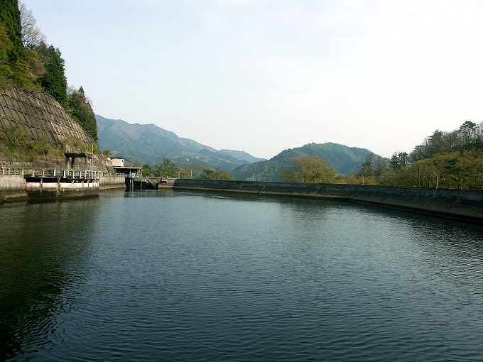 中国電力奥津発電所調整池/恩原ダム_f0116479_21582661.jpg