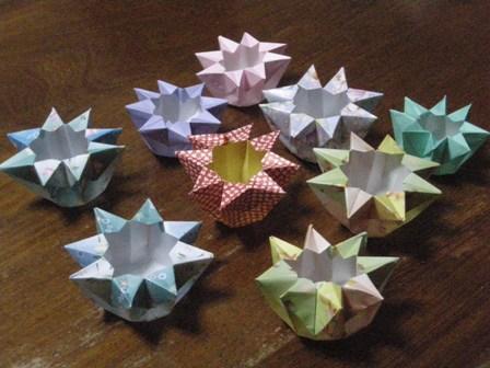 簡単 折り紙 9月の折り紙 : tojorigami.exblog.jp