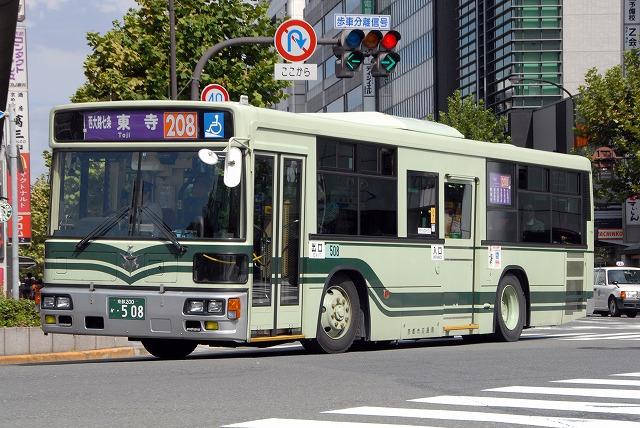 京都市バス~西工ノンステップバス~_a0164734_21584992.jpg