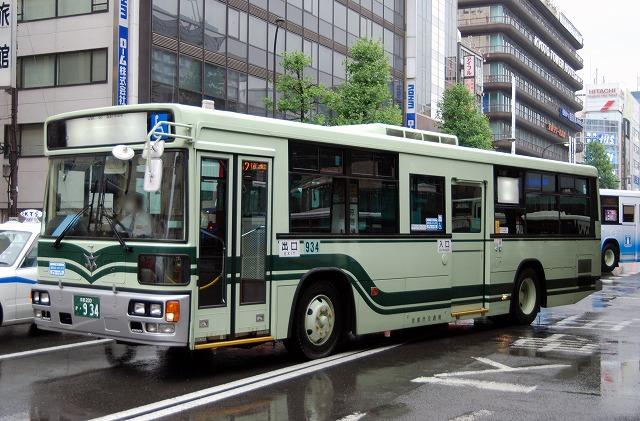 京都市バス~西工ノンステップバス~_a0164734_226159.jpg