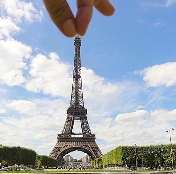 This is Paris!な〝エッフェル塔″_a0092659_1327234.jpg