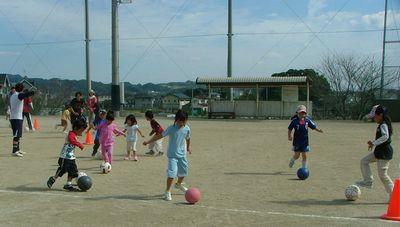 第8回 親子で楽しむサッカー教室_c0218303_10291150.jpg